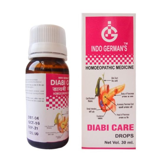 Indo German Diabi Care- Anti Diabetic Drops, 30ml