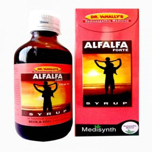 Medisynth Alfalfa Forte Syrup - Health Restorative Tonic for All Ages