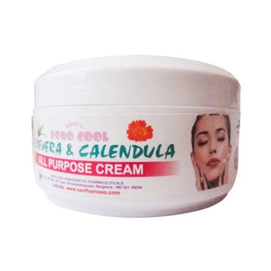 Savi Boro Cool Aloe Vera and Calendula Herbal All Purpose Cream