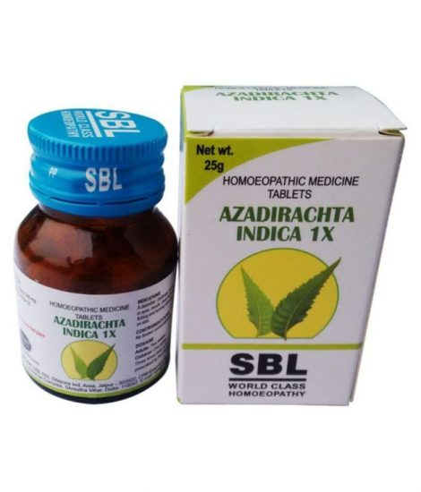 Azadirachta Indica (Neem)1x Tablet, for Skin Ailments, Blood Purifier