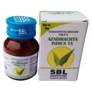 Azadirachta Indica (Neem)1x Tablet, for Skin Ailments, Blood Purifier