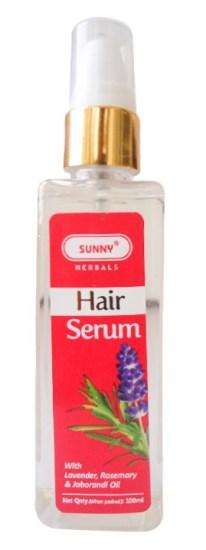 Bakson Sunny Herbal Hair Serum with Lavender, Rosemary and Jaborandi Oil