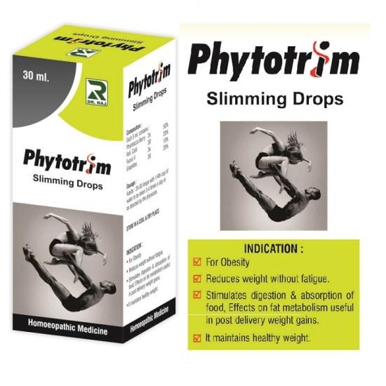 Dr.Raj Phytotrim Drops, Homeopathic Slimming Drops