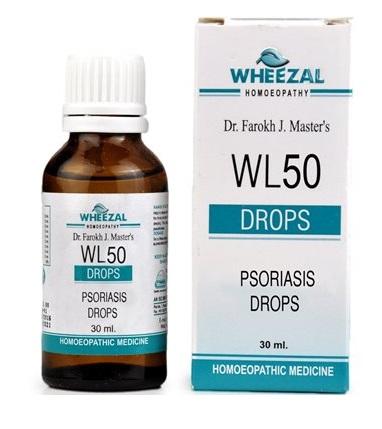 Wheezal WL50 Psoriasis Drops