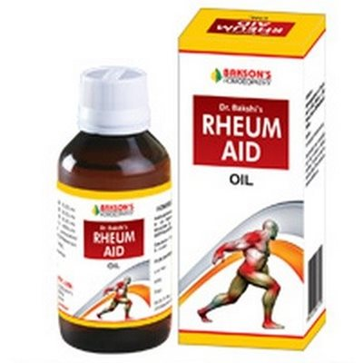 Baksons Rheum Aid Oil - medicine for Joint Pain and Stiffness, Muscle pain, Sprains