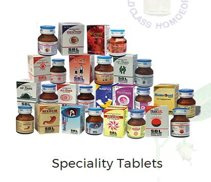 SBL Homeopathy Tablet image