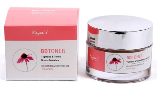 Mayons BD Toner Massaging and Soothing Gel, Tightens and Tones Breast Muscles