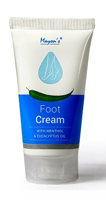Mayons Foot Cream with Menthol and Eucalyptus Oil