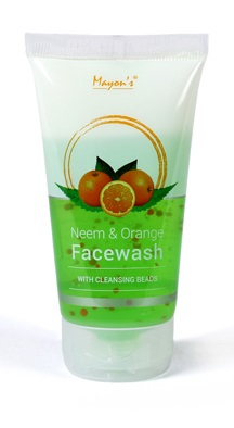 Mayons Neem and Orange Face Wash with Cleansing Beads