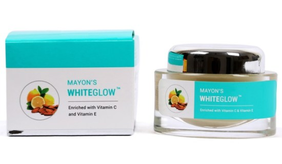 Mayons White Glow Skin Lightening Cream Enriched with Vitamin C and Vitamin E
