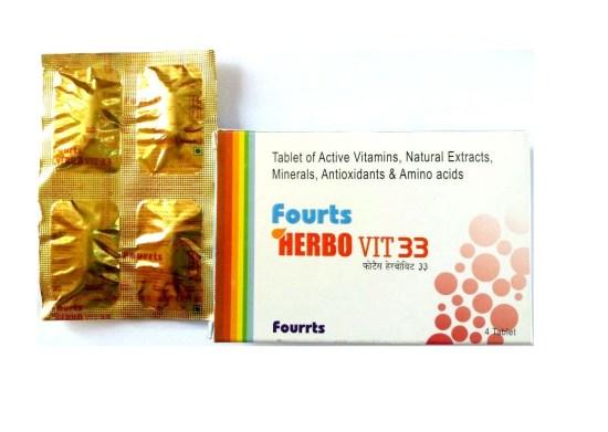 Fourrts Herbo Vit33 with minerals, anti oxidants, amino acids