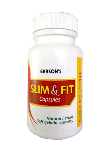 Baksons Slim Fit Capsules for maintaining body weight