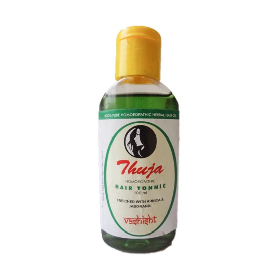 Vashisht Homeo Thuja Hair Oil Enriched with Arnica and Jaborandi for Hair Loss