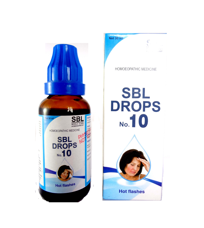 SBL drops No 10 for Hot flashes, get upto 15% off on homeomart
