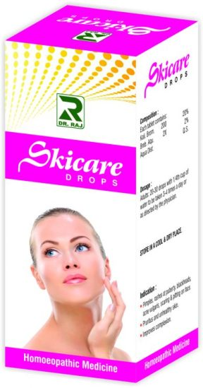 Dr Raj Skicare Drops - Acne and Complexion Drops