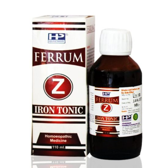 Hahnemann Pharma Ferrum Iron Tonic