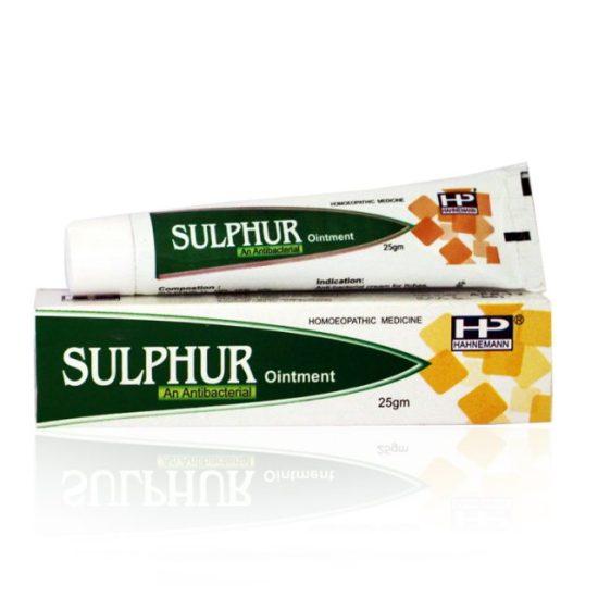 Hahnemann Pharma Sulphur Antibacterial Ointment