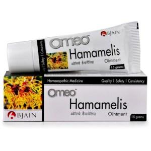 Bjain Omeo Hemamalis Ointment for piles hemorrhoids