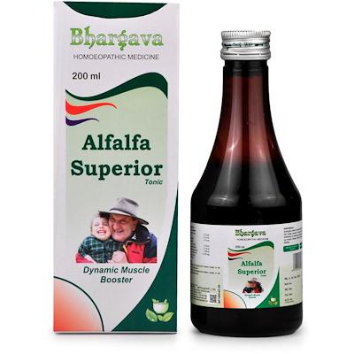 Bhargava Alfalfa Superior Tonic - Dynamic Muscle Booster