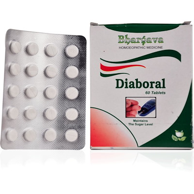 Bhargava Diaboral Tablets for Diabetes
