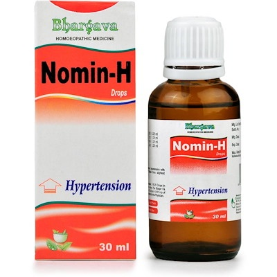 Bhargava Nomin H Drops for Hypertension