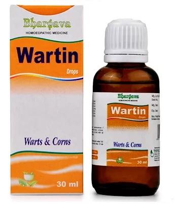 Bhargava Wartin Drops for Warts and Corns