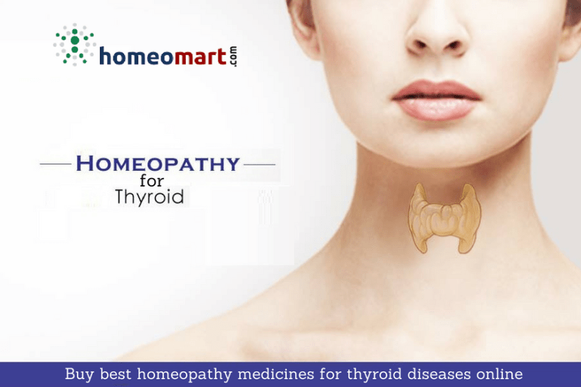 Homeopathy for thyroid diseases hyperthyroidism hypothyroidism