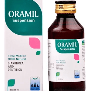 SBL Oramil Suspension Syrup for Teething Trouble in Infants