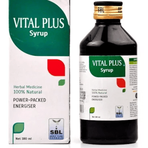 SBL Vital Plus Syrup-Herbal Rejuvenator with Ginseng