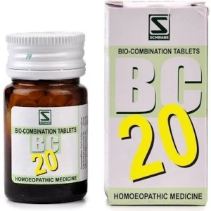 Schwabe Biocombination BC20 Tablets for Skin Diseases