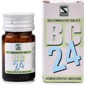 Schwabe Biocombination BC24 Tablets for General Debility