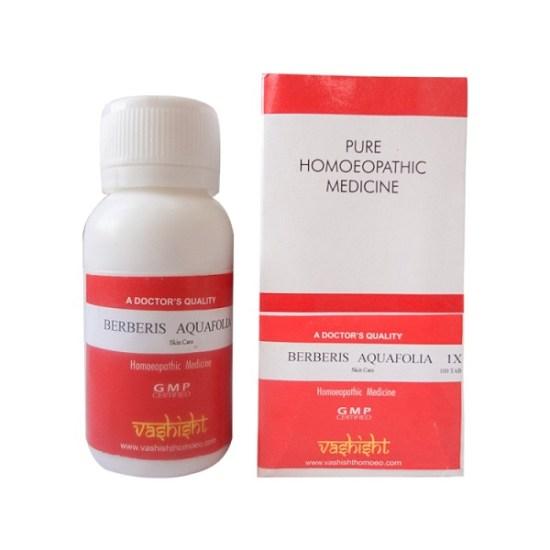 Vashisht Berberis Aquafolia (aquifolium) 1X Tablets for skin problems