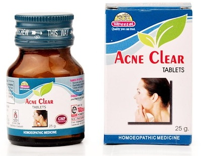 Wheezal Acne Clear Tablets for Acne