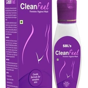 SBL Clean Feel with calendula and boswellia- Homeopathy Feminine Hygiene Wash, Bacterial vaginosis, Vaginal yeast infection