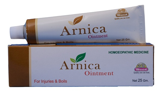 Wheezal Arnica Ointment for Injuries and Boils