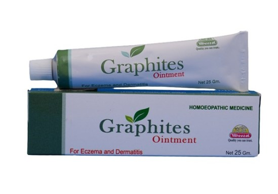 Wheezal Graphites Ointment for Eczema & Dermatitis