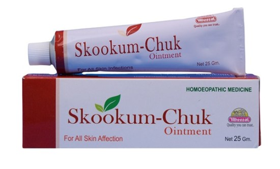 Wheezal Skookum Chuk Ointment for All Skin Affection