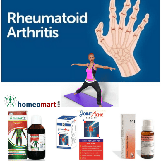 homeopaty medicines list for rheumatoid arthritis treatment, painful swelling of joints, deformity of body joints