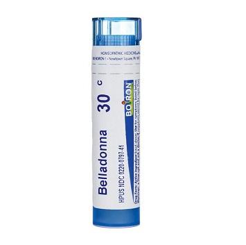 Boiron Belladonna 30c, 200c Homeopathy Pills for fever, Neuralgia , Headache, earache, cold