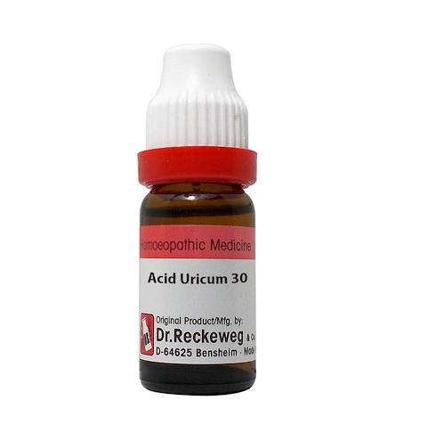Dr Reckeweg Germany Acidum Uricum Homeopathy Dilution 6C, 30C, 200C, 1M, 10M, CM