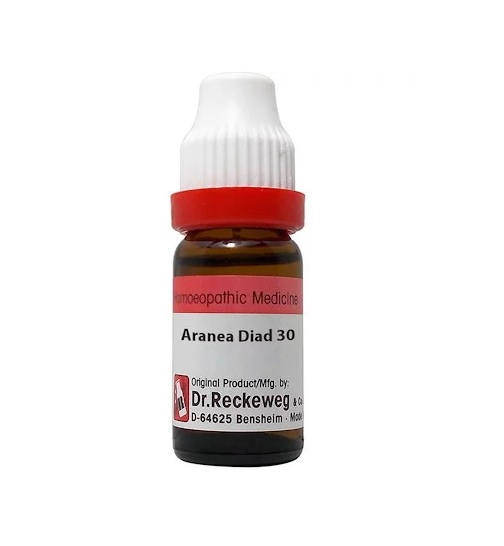 Dr Reckeweg Germany Aranea Diadema Homeopathy Dilution 6C, 30C, 200C, 1M, 10M