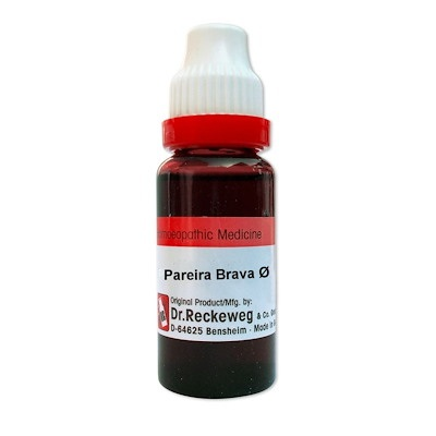 Dr. Reckeweg Pareira Brava Homeopathy Mother Tincture Q