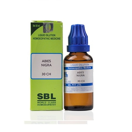 SBL Abies Nigra Homeopathy Dilution 6C, 30C, 200C, 1M, 10M