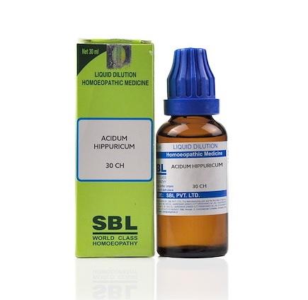 SBL Acidum Hippuricum Homeopathy Dilution 6C, 30C, 200C, 1M, 10M, CM