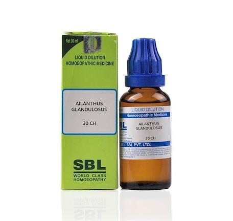 SBL Ailanthus Glandulosus Homeopathy Dilution 6C, 30C, 200C, 1M, 10M
