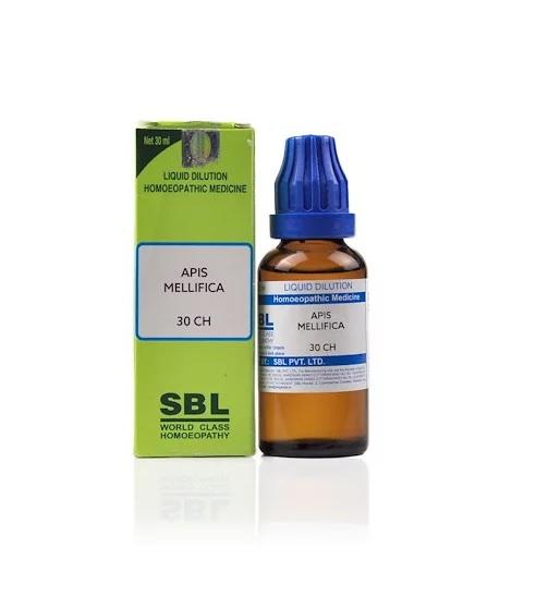 SBL Apis Mellifica Homeopathy Dilution 6C, 30C, 200C, 1M, 10M, CM