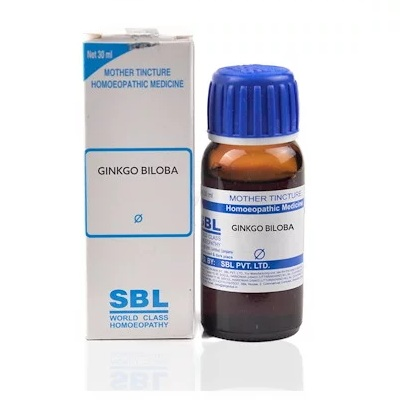 SBL Ginkgo Biloba Homeopathy Mother Tincture Q
