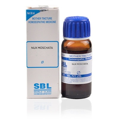 SBL Nux Moschata Homeopathy Mother Tincture Q