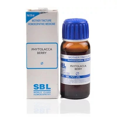 SBL Phytolacca Berry Homeopathy Mother Tincture Q