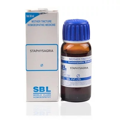 SBL Staphysagria Homeopathy Mother Tincture Q